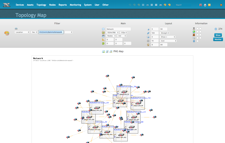 network topology mapper open source